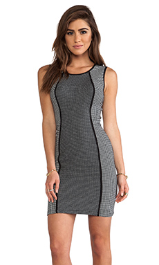 Bailey 44 Diva Doll Dress in Black & Chalk