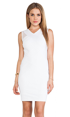 Bailey 44 Art District Dress in White
