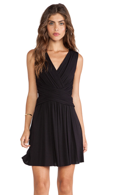 Bailey 44 Rake Dress in Black