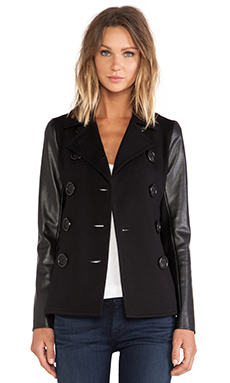 Bailey 44 Parish Pea Coat in Black