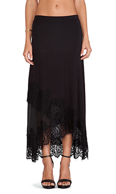 Bailey 44 Heirloom Skirt in Black