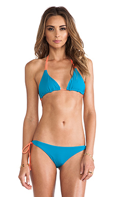 Basta Surf Kikitas Top in Teal & Versilia