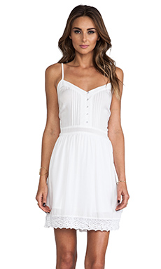 Jack by BB Dakota Abelia Challis Mini Dress in White
