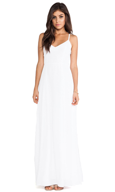 BB Dakota Loulla Maxi Dress in Optic White