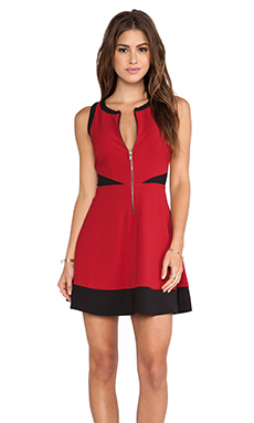 Jack by BB Dakota Violeta Tank Dress in Chili Pepper