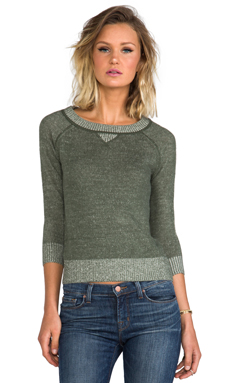 BB Dakota Lilyana Sweater in Army Green