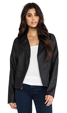 BB Dakota Adah Moto Jacket in Black