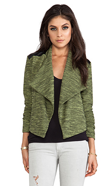 Jack By BB Dakota Hedia Moto Jacket in Limeade