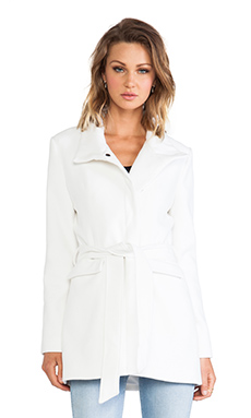 Jack By BB Dakota Cecil Coat in Ivory