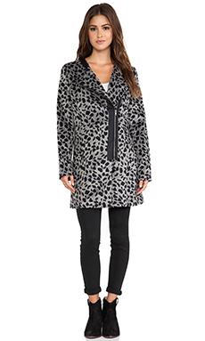 Jack by BB Dakota Elden Leopard Jacket in Black