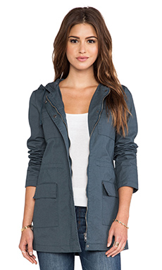 Jack by BB Dakota Rosen Jacket in Dark Slate