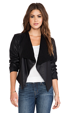 BB Dakota Tamela Moto Jacket in Black