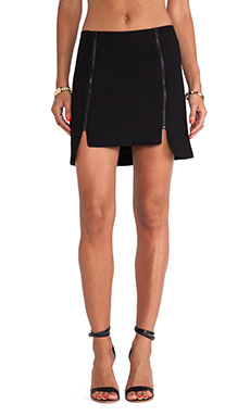 Jack By BB Dakota Hedda Skirt in Black