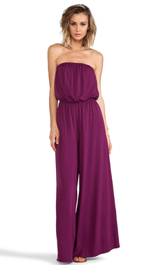 BB Dakota Nahal Wide Leg Jumpsuit in Grape