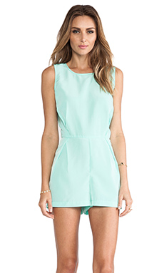 Jack by BB Dakota Ester Romper in Cabbage