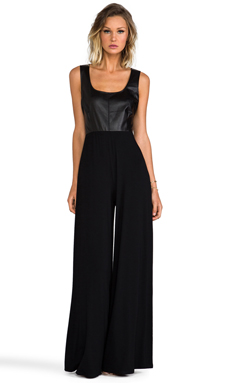 BB Dakota Music Twisted Jumpsuit in Black