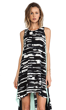 BCBGMAXAZRIA Malisa Dress in Black Combo