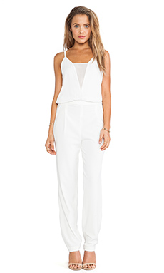 BCBGMAXAZRIA Waylen Jumpsuit in White
