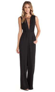 BCBGMAXAZRIA Behati Jumpsuit in Black