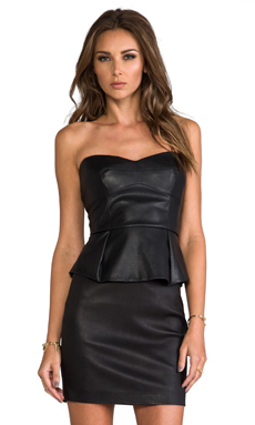 BCBGMAXAZRIA Noemi Top in Black