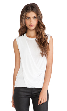 BCBGMAXAZRIA Rumor Tank Top in White