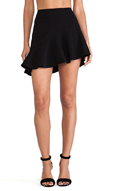 BEC&BRIDGE Magnetic Flip Skirt in Black