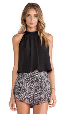 BCBGeneration Trapeze Top en Noir