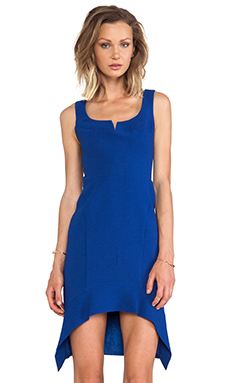 Black Halo Dallas Dress in Cobalt