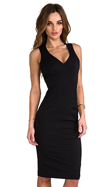 Black Halo Vera Mini Sheath in Black