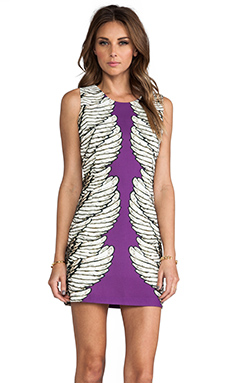BLAQUE LABEL Print Dress in Purple
