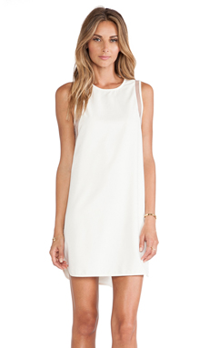 BLAQUE LABEL x REVOLVE EXCLUSIVE Shift Dress in White