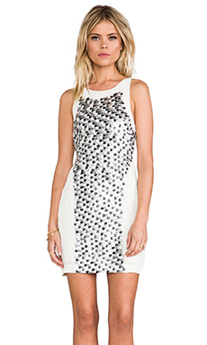 bless'ed are the meek Fleck Dress in Multi/Ivory