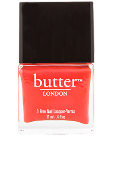 butter LONDON 3 Free Lacquer in Jaffa