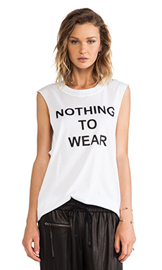 NOTHING TO WEAR MUSCLE TEE