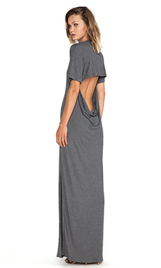 ROBE MAXI BACK SIDE