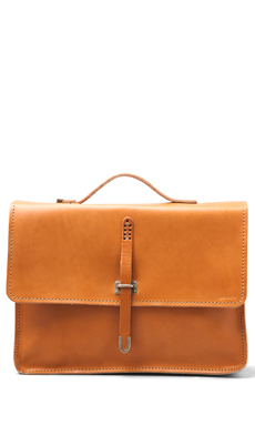 Billykirk No. 236 Schoolboy Satchel in Tan