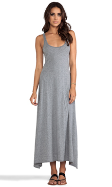 Bobi Supreme Maxi Tank Dress in Thunder