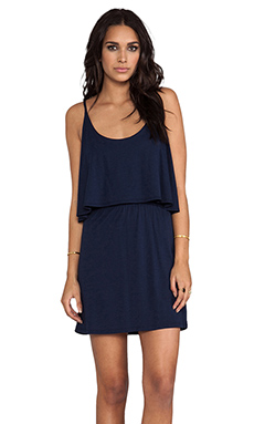Bobi Jersey Mini Dress in Marina