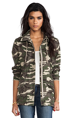 Bobi Military Jacket in Camo