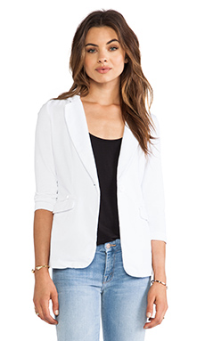 Bobi Blazer in White