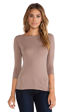 Bobi Light Weight Jersey Long Sleeve Tee in Java