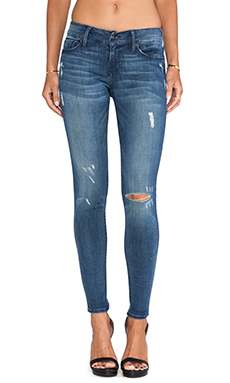 Black Orchid Distressed Skinny in Splash
