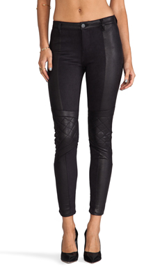 Black Orchid Biker Legging in Black