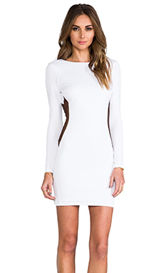 Boulee Erika Dress in White