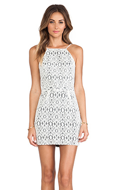 Boulee Gabriella Dress in Ivory Lace