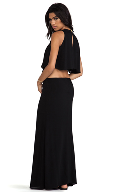 Boulee Cinthya Long Dress in Black