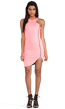 Boulee Whitney Dress in Neon Pink