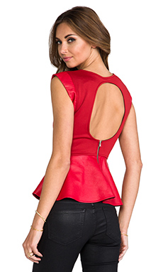 Boulee Ava Top in Red