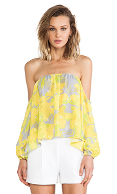 Boulee Audrey Top in Leaf Print