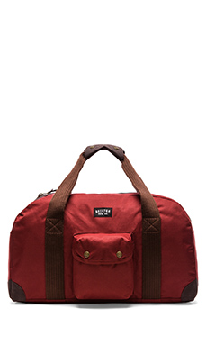 Brixton Vagrant Duffle Bag in Red